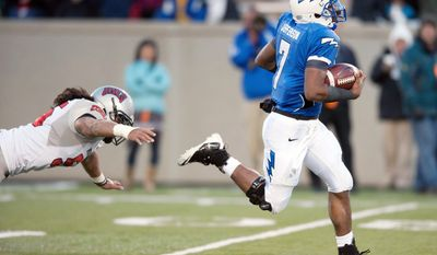 Tim Jefferson's 28 victories (in 43 career starts) are the most for an Air Force starting quarterback. The Falcons face Toledo today in the Military Bowl at RFK Stadium. (Associated Press)