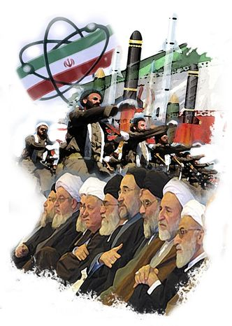 Illustration: Mullahs by John Camejo for The Washington Times