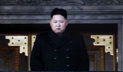 In this image made from KRT video, North Korea's next leader Kim Jong Un is seen during a memorial service for late North Korean leader Kim Jong Il, in Pyongyang, North Korea, Thursday, Dec. 29, 2011. (AP Photo/KRT via APTN)