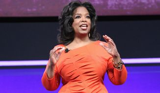 """Oprah Winfrey, whose OWN venture stumbled in its first year, said, """"I don't worry about failure. I worry about, 'Did I do all I could do?' (George Burns, OWN via Associated Press)"""