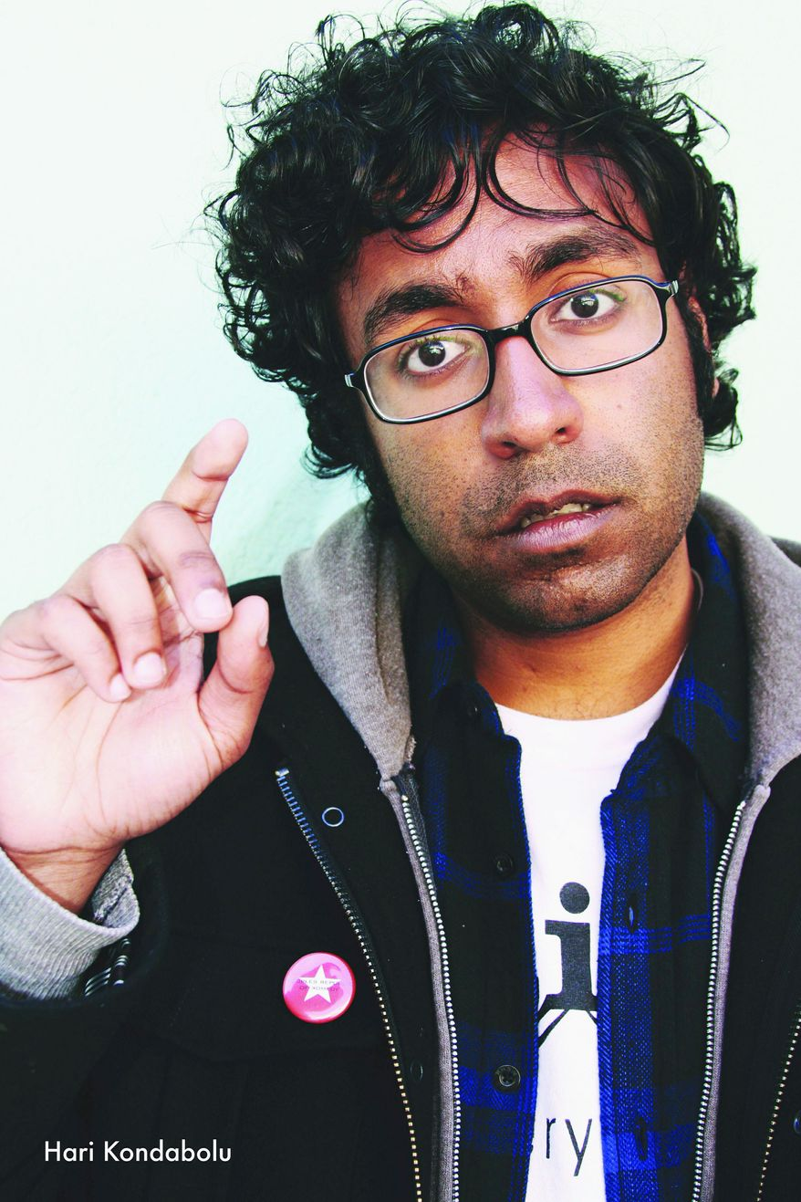 """I really don't know what to expect, and that is both scary and very exciting for a performer."" - Hari Kondabolu, comedian on ""Make Chai, Not War"" stand-up tour"