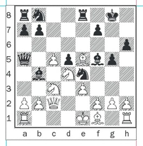 Kaidanov-Ivanov after 13...Re8.