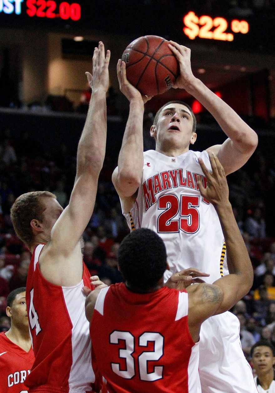 associated press photographs The recent addition of center Alex Len (above) and Pe'Shon Howard (below) to the lineup will benefit Maryland with more difficult foes on the horizon.