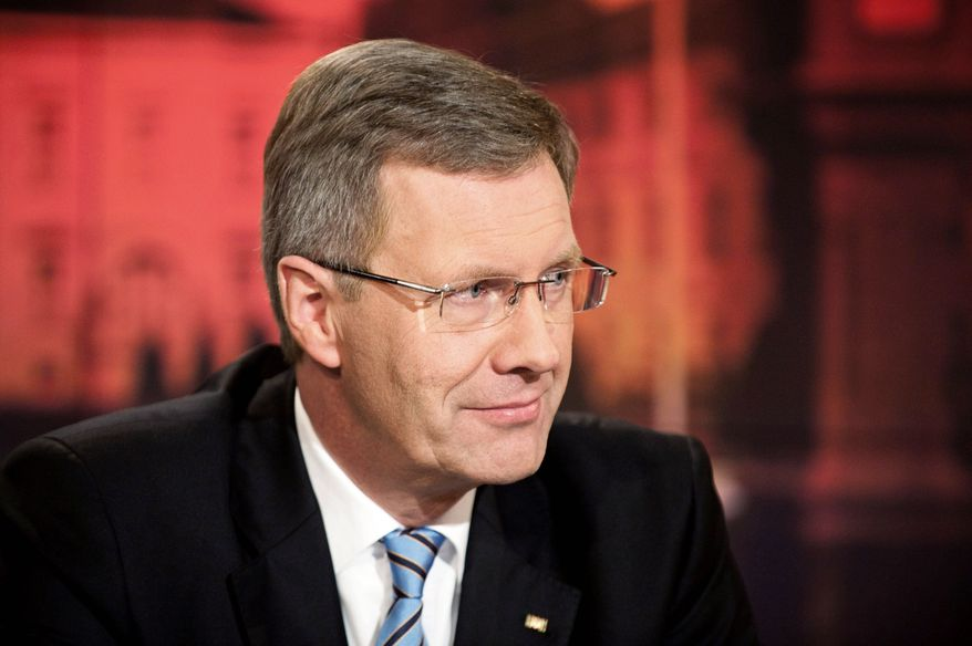 Christian Wulff (German government via AP)