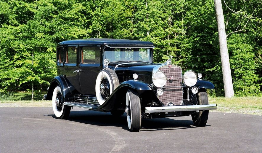While other automakers were concerned with V-8 and V-12 engines, Cadillac in 1930 offered a V-16.