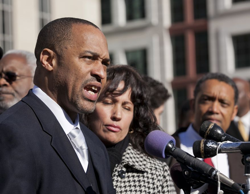**FILE** Former D.C. Council member Harry Thomas Jr. (Andrew S. Geraci/The Washington Times)