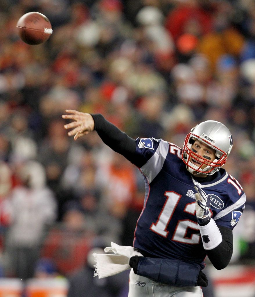 New England QB Tom Brady was just 23-for-42 for 154 yards and two touchdowns in a playoff loss to Baltimore in the 2009 playoffs. He also was intercepted three times.