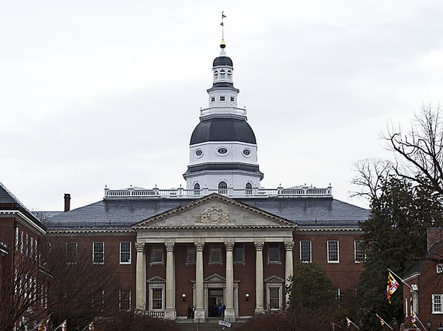 The Maryland Statehouse in Annapolis (The Washington Times)