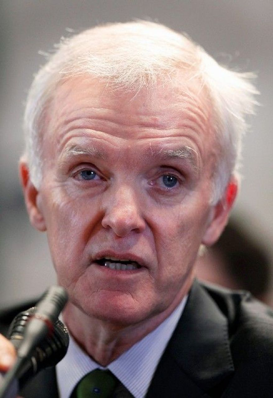 Former Sen. Bob Kerrey, Nebraska Democrat, who stepped down from the Senate after two terms in 2001, is considering making a comeback bid. (Associated Press)