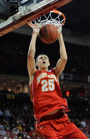 Center Alex Len has averaged just 2.7 points and 4.3 rebounds in his past three games - all against ACC competition. (Associated Press)