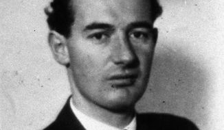 Swedish diplomat Raoul Wallenberg is credited with saving thousands of Hungarian Jews from the Nazis during World War II. (AP Photo/Scanpix Sweden, File)