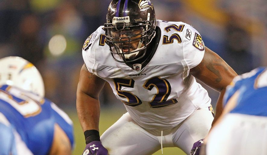 Ravens linebacker Ray Lewis, a 13-time Pro Bowler and seven-time first-team All-Pro, has been synonymous with Baltimore's rugged defense since entering the NFL in 1996. He wants another ring before he retires. (Associated Press)