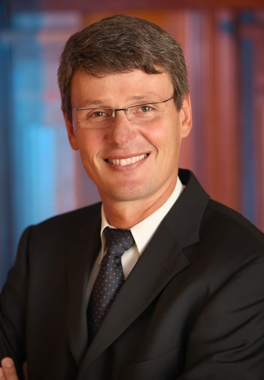 This undated photo provided by Research in Motion shows Thorsten Heins, who on Jan. 22, 2012, was named President and Chief Executive Officer of Research In Motion. Heins succeeds co-CEOs Jim Balsillie and Mike Lazaridis, who announced they are stepping down. (Associated Press/Research In Motion via The Canadian Press)