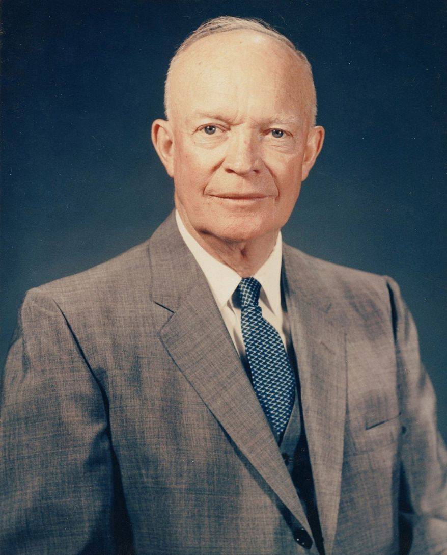 President Eisenhower delivered a State of the Union speech that was written on a 12th-grade level. (Dwight D. Eisenhower Presidential Library and Museum)