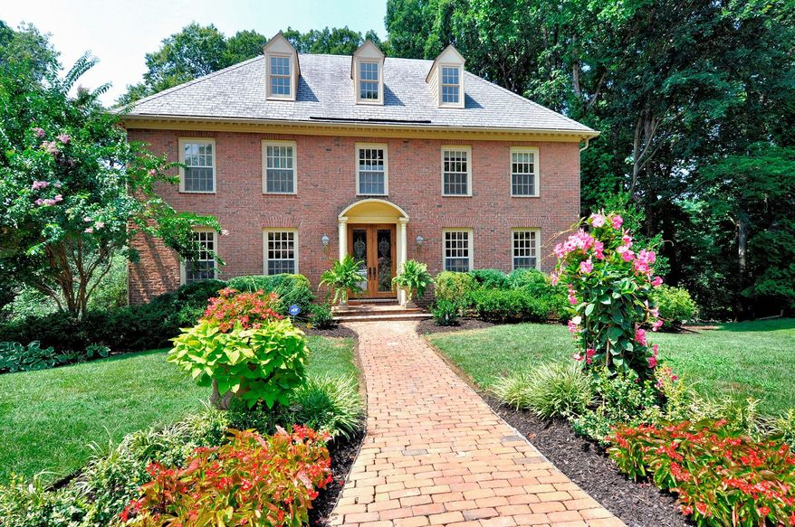 The home at 101 River Forest Lane in the Tantallon on the Potomac community in Fort Washington is on the market for $1,100,000. The six-bedroom home was built in 1987.