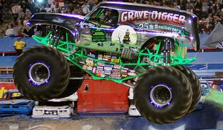 Monster trucks will be at the Verizon Center from Friday through Sunday.