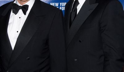 **FILE** New York Police Commissioner Raymond Kelly and son Greg attend the New York City Police Foundations 31st Annual Gala in New York on March 3, 2009. (Associated Press)