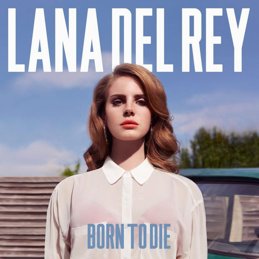 """Album cover for Lana Del Rey """"Born to Die"""" that will be released on January 31, 2012."""