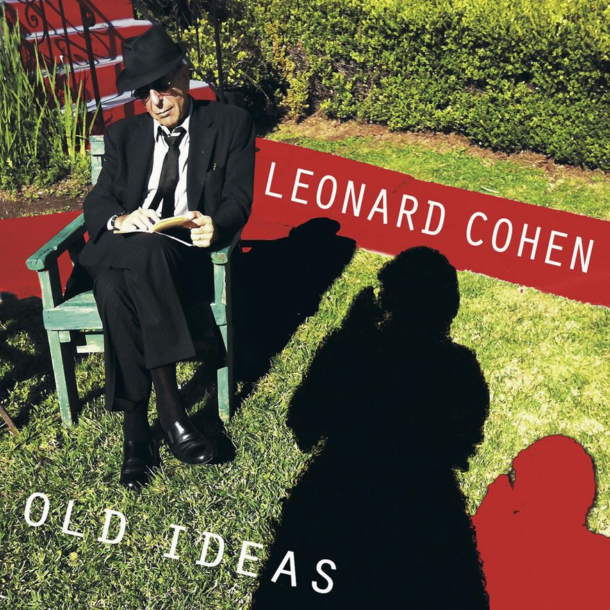 """Album cover artwork for Leonard Cohen's new album """"Old Ideas"""" in stores January 31, 2012 (CNW Group/Sony Music Entertainment Canada Inc.)"""