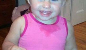 **FILE** This undated photo obtained from a Facebook page shows missing toddler Ayla Reynolds. Investigators said Jan. 29, 2012, that some of the blood found in the Maine home where Reynolds was last seen on Dec. 17 belonged to the little girl. (Associated Press/Obtained from Facebook)