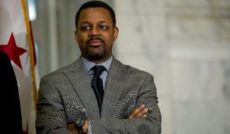 D.C Council Chairman Kwame R. Brown. (Barbara L. Salisbury/The Washington Times)