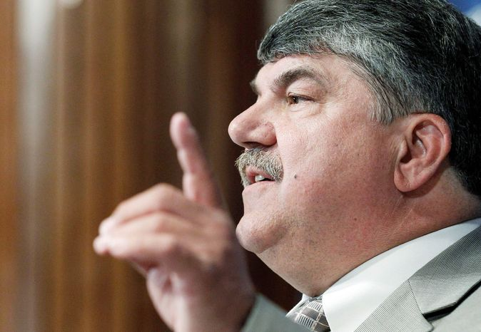 """""""This isn't about economic policy; this is about payback to political donors and corporate CEOs. It has nothing to do with job growth because it doesn't create jobs whatsoever."""" - Richard Trumka, AFL-CIO President"""