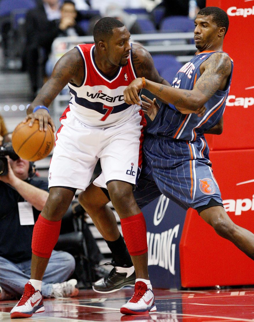 Andray Blatche's season got off to a rocky start when he tweeted his displeasure with the Wizards' coaching staff, and now he's sidelined for three to five weeks with a strained calf. (Associated Press)