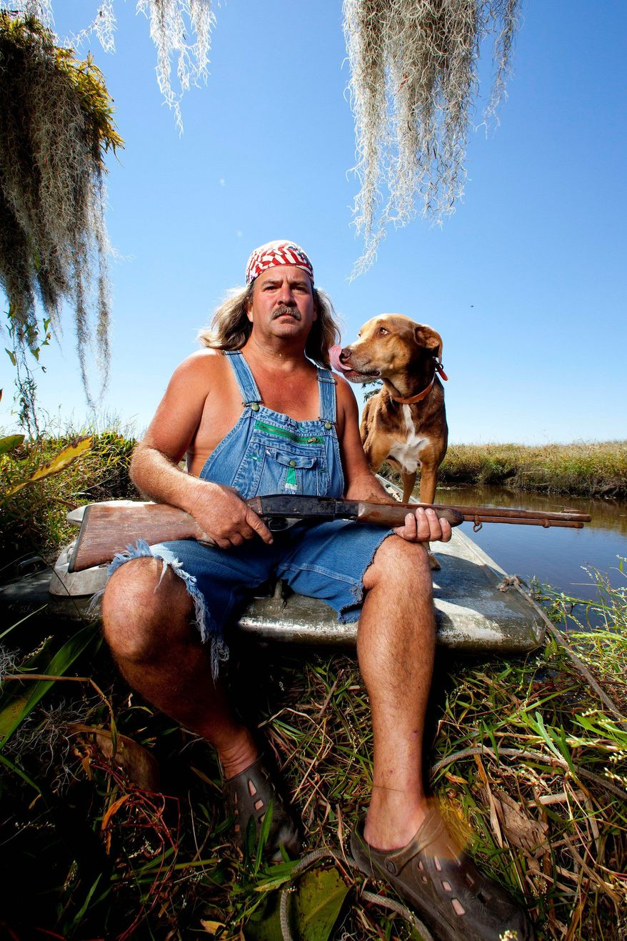 "A scene from the History Channel's ""Swamp People."" Since the show's 2010 premiere, about a dozen other Louisiana-based reality shows have come to TV. (History Channel via Associated Press)"