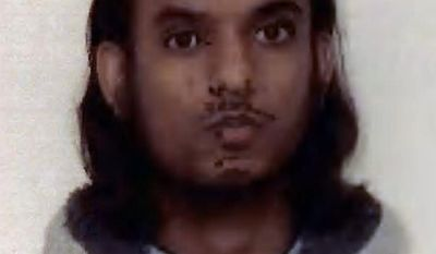 Mohammed Chowdhury is one of four British men who pleaded guilty on Wednesday, Feb. 1, 2012, to involvement in an al-Qaeda-inspired plot to spread terror and cause economic damage by bombing the London Stock Exchange. (AP Photo/West Midlands Police)