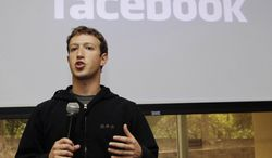 ** FILE ** Facebook CEO Mark Zuckerberg talks about the social network site's new privacy settings in May 2010 in Palo Alto, Calif. (AP Photo/Marcio Jose Sanchez, File)