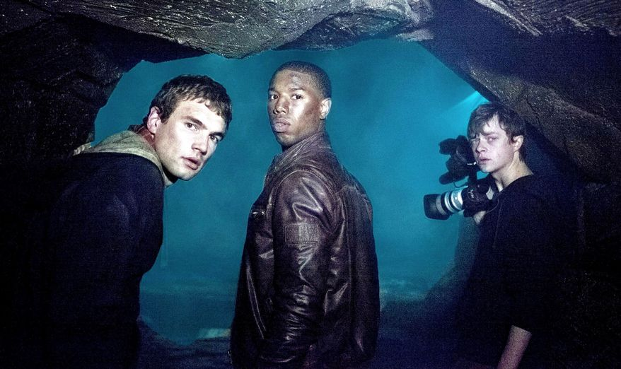 "Alex Russell, Michael B. Jordan, and Dane DeHaan (from left) play teens with special powers in ""Chronicle,"" a cleverly twisted take on the superhero origin story. (20th Century Fox via Associated Press)"