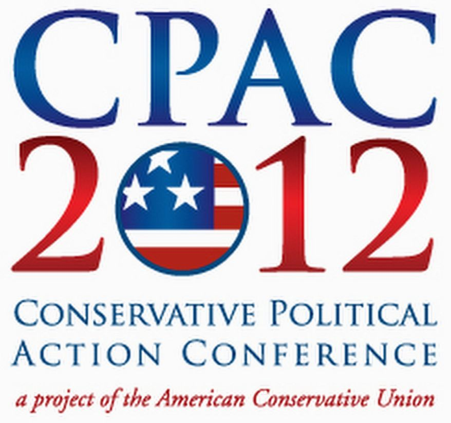 Dreaming of CPAC: the fabulous conservative gathering begins next Thursday with speakers that include all four Republican hopefuls and Sarah Palin. (image from American Conservative Union)