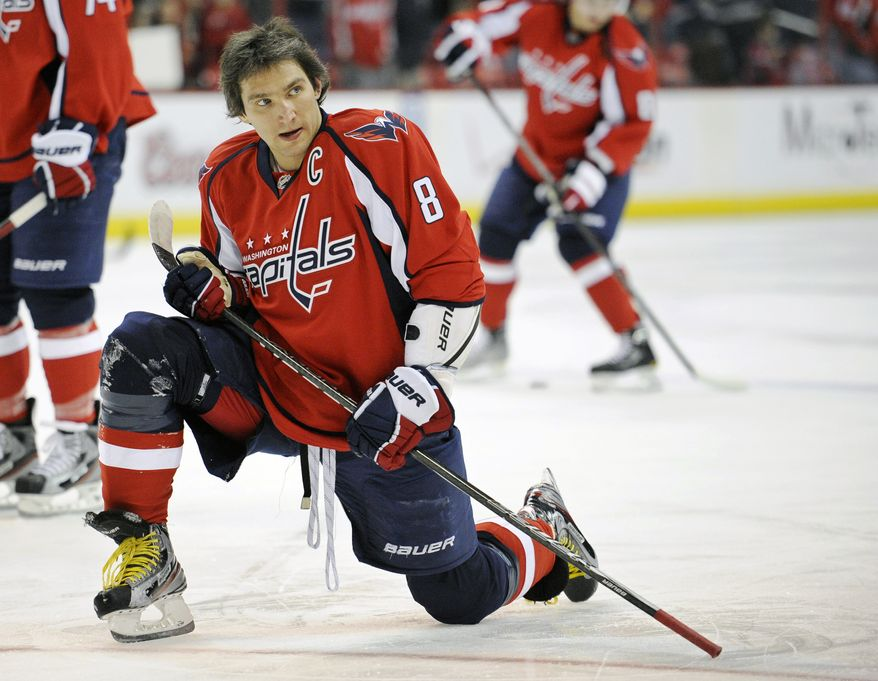 Washington Capitals captain Alex Ovechkin has 23 goals and 21 assists in 53 games this season. (AP Photo/Nick Wass, File)