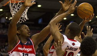 ** FILE ** Washington Wizards forward Kevin Seraphin (AP Photo/The Canadian Press, Frank Gunn)