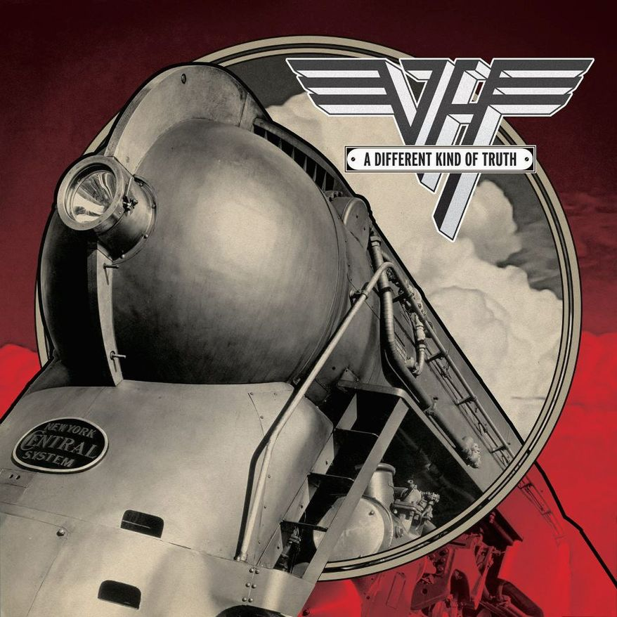 """Album cover for """"A Different Kind of Truth"""" by Van Halen."""