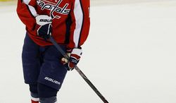 Capitals center Nicklas Backstrom hasn't played since taking an elbow to the head from Calgary's Rene Bourque on Jan. 3. (Associated Press)