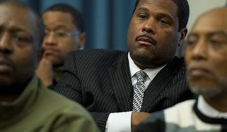Emmanuel S. Bailey was brought on as a local subcontractor after the D.C. Lottery contract for online gaming was awarded despite having no ties to gambling in his business background. (Barbara L. Salisbury/The Washington Times)