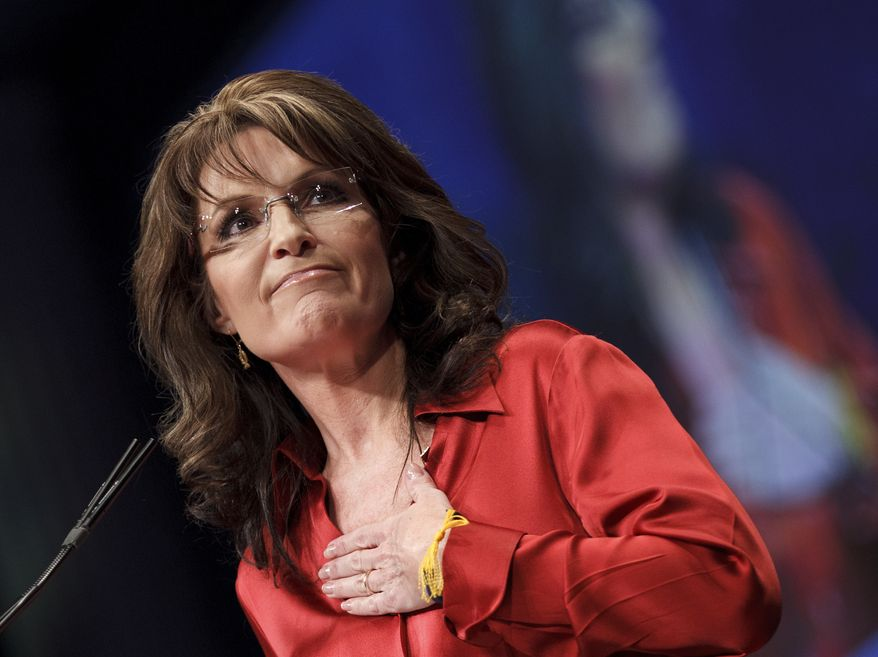 Former Alaska Gov. Sarah Palin (Associated Press)