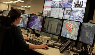 The Surface Transport Traffic Control Center in London will be the nerve center for coordinating traffic during the Olympic Games. Ambulances, which are expecting an increase in demand, have particular fears about traffic not moving. (Associated Press)
