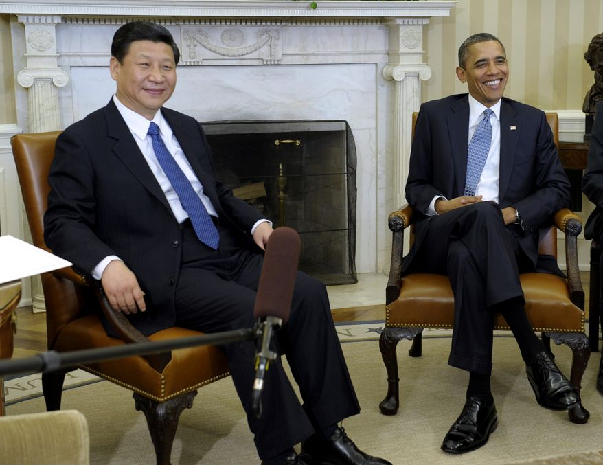 President Obama meets with Chinese Vice President Xi Jinping on Feb., 14, 2012, at the White House. (Associated Press)