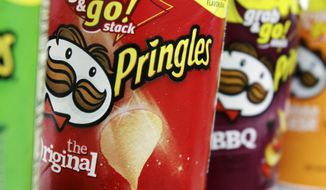 ** FILE ** Pringles chips. (AP Photo/Pat Wellenbach)