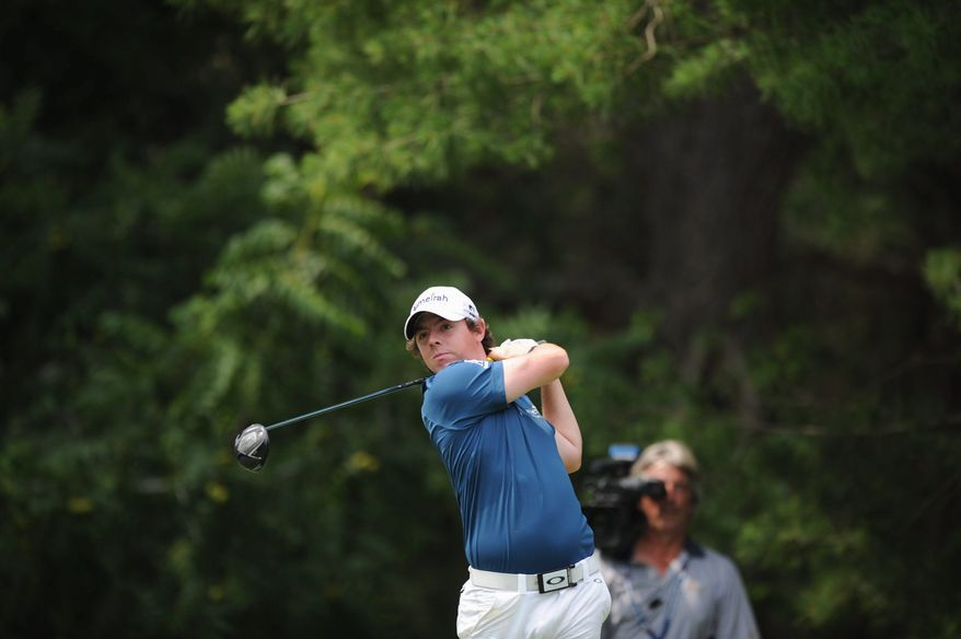 Rory McIlroy feels the changes he's made to his swing will work in time for the Masters, which begins April 5. The 22-year-old has been working with longtime coach Michael Bannon on improving his setup. (Rod Lamkey Jr./The Washington Times)