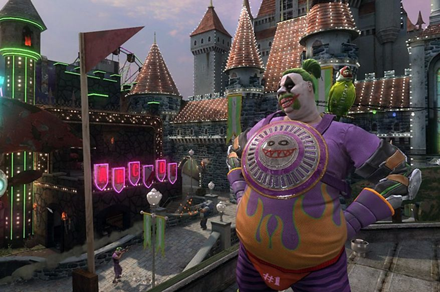 Players customize some outrageous characters in the first person shooter Gotham City Impostors.
