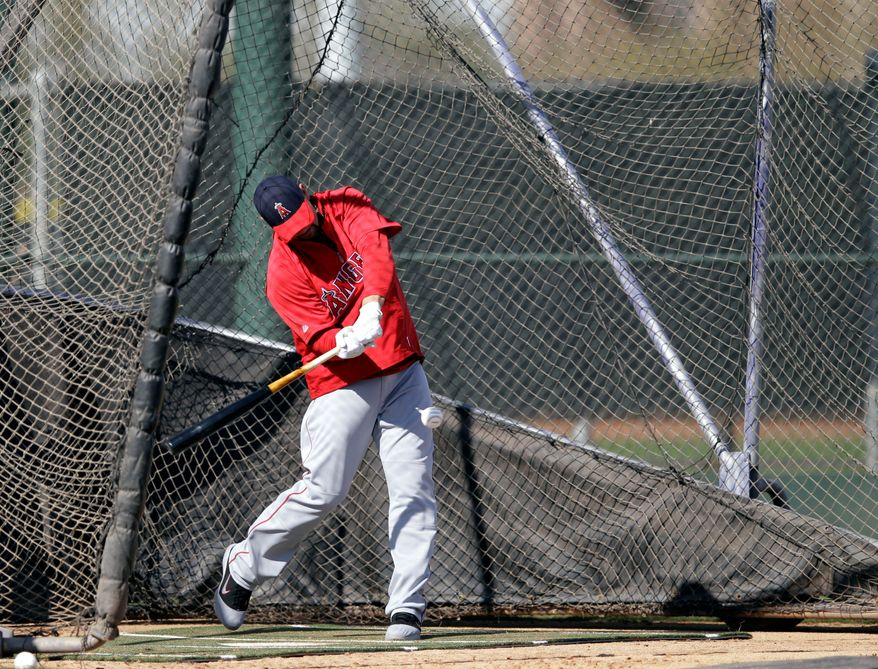 First baseman Albert Pujols was lured to the Los Angeles Angeles with a $240 million contract. Pujols batted .328 with 445 home runs and 1,329 RBI in 11 seasons with St. Louis. (Associated Press)