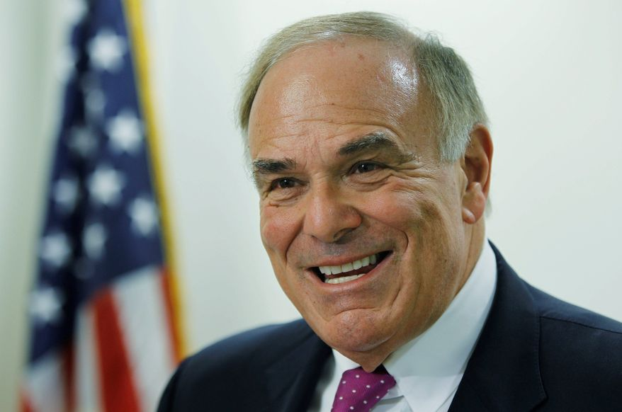 """Former Pennsylvania Gov. Ed Rendell leads a group seeking to buy Philadelphia's two daily newspapers. """"Nobody wants to stifle news,"""" he said of concerns about his ownership. (Associated Press)"""