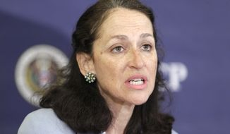 ** FILE ** Dr. Margaret Hamburg is commissioner of the Food and Drug Administration. (AP Photo/J. Scott Applewhite, File)