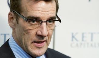** FILE ** Capitals general manager George McPhee. (Rod Lamkey Jr./ The Washington Times)