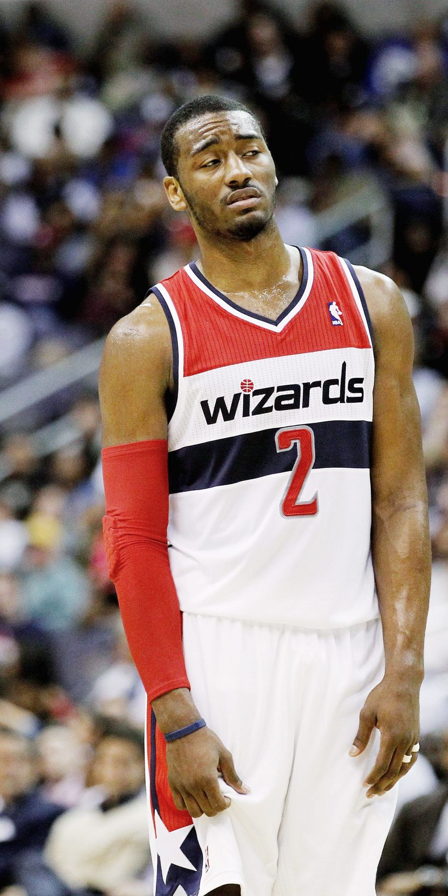 John Wall and the Wizards enter the All-Star break a dismal 7-26. But at least they're better than the Bobcats. (Associated Press)