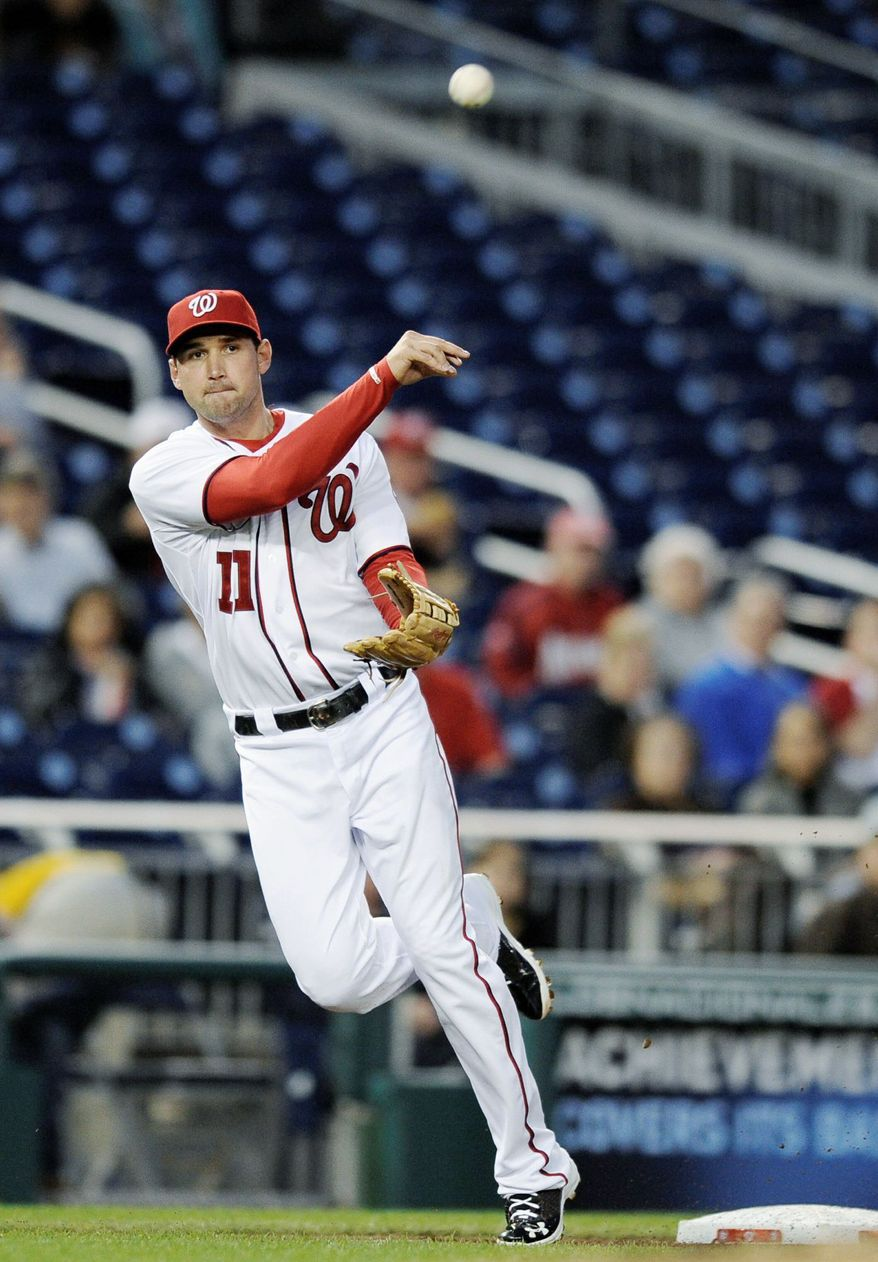Ryan Zimmerman has set a Saturday deadline for a contract extension to be worked out, and the Washington Nationals are 'hopeful' to get it done. He has two years left on his current deal. (Associated Press)