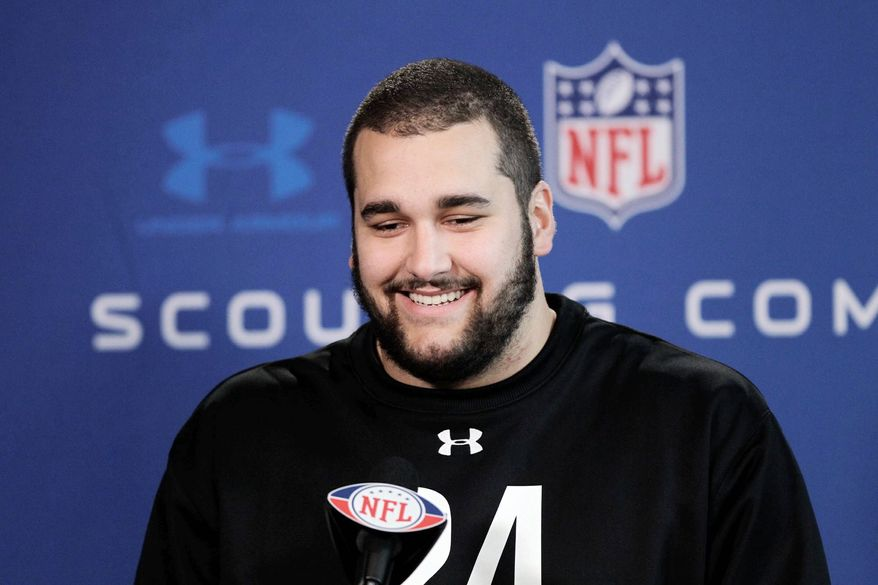 Offensive lineman Matt Kalil, an All-American at Southern California, is expected to be among the top picks in the draft. (Associated Press)